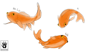 Goldfish by DemonML