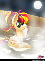 Blame it on the Summer Night by CloudDG