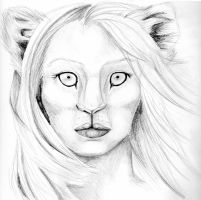 Lion Girl by blossomcrown