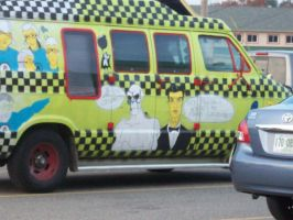 Frisky Dingo Paint on Van by SailorUsagiChan