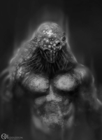 bumpy looking blurry dude thingy concept by nickhuddlestonartist