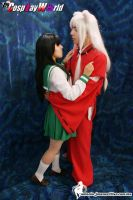 Inuyasha and Kagome......love by Chika-Sakura