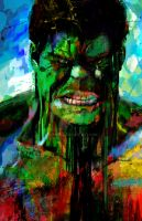 The Hulk (Heroes) by j2Artist