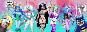 Skankicide Squad by curtsibling