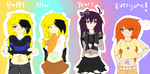 Happy New Years! On To 2014! by ZiiaChan