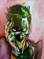 Water Colour THE JOKER by TinyAmazon