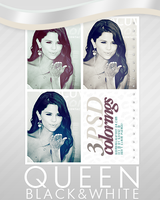 Selena Gomez psd colorings by diamondlightart