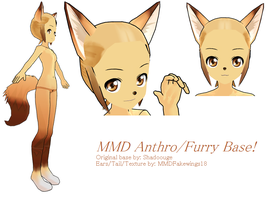 Lat Anthro-Furry Base -DL by MMDFakewings18