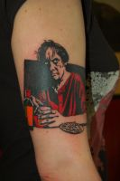 Hellacopters album tattoo by yayzus