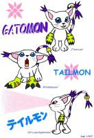 Gatomon by A16F04V90