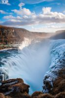 Iceland. The Abyss - Gullfoss by RaumKraehe