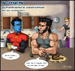 X Men Wolverine and others by syren007