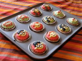 Potter puppet pal cakes by Pigeons-and-Chives