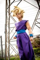 DBZ - Super Saiyan Gohan by LiquidCocaine-Photos