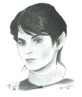 Saavik from Star Trek by uss-enterprise-club