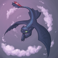 Toothless by Eastern-Katt
