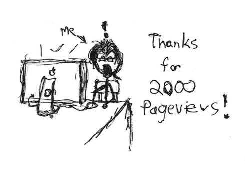 Thanks for the 2000 by ChaosModifier