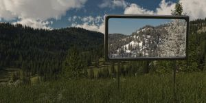 Winter Frame by SwissAdA