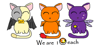 Cute Cats for SALE 1 POINT EACH by DarkerHours