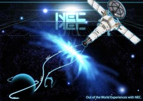 NEC Projector Ad by phyoeminthaw