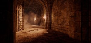 Hall of the Knights' Tomb by 4dimensional