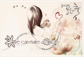 love can make a miracle by jewell-liu