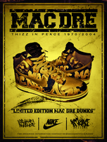Mac Dre Nike Dunks by GrahamPhisherDotCom