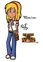 MOTHER 2+3: TFOTPK - Paula by Marcotto