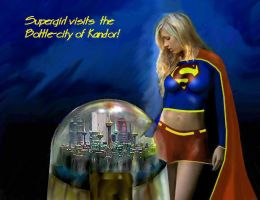 Supergirl Visits Kandor by dan457