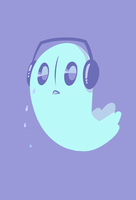 Napstablook by Hollulu