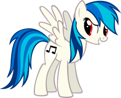 DJ Pon-3 Rainbow Dash by RDbrony16