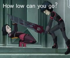 How low can you go? :icon: by Uchiha-Odd