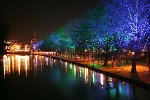 River Great Ouse at Christmas by tammyins