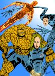 Fantastic Four...in color by AdamTupper