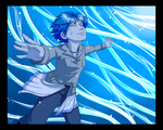 Color Challenge 03 - Blue by twapa