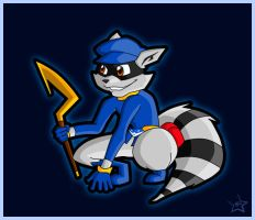 Sly Cooper by gejimayo