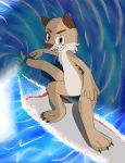 FurTheOtter surfing by Neo-Anton