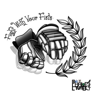 Fight With Your Fists (Dropped Gloves) by AllHaleTurekArt