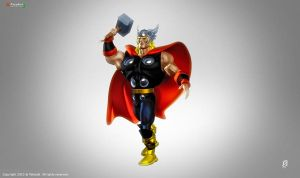 Thor God Of Thunder by patokali