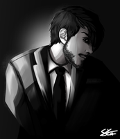 Darkiplier by Liljoja