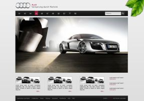 Audi Webconcept by ZodiakDesigns