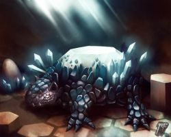 Twinkling Titanite Beast by MarceloSperandio