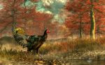 Wild Turkey by deskridge