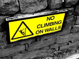 no climbing by BackOfYourMouth