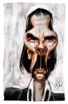 Nick Cave for Caricaturama by johnshine
