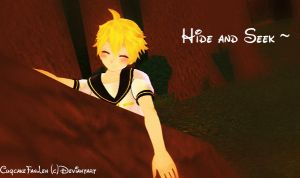 Hide and Seek with Len~ by CuqcakeFanLen