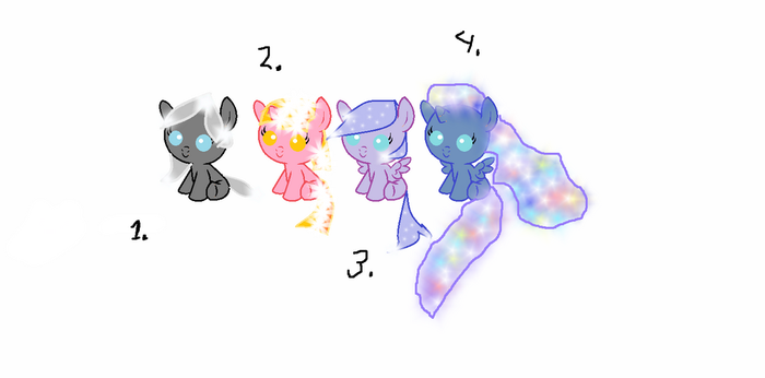 Adoptables by WingedDestiny11