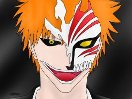 Hollow Ichigo by xYunex