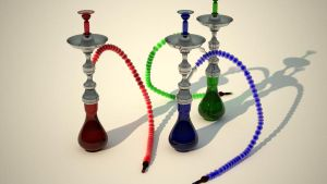 Three shisha by tom55200