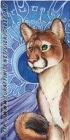 Cougar Bookmark by lady-cybercat